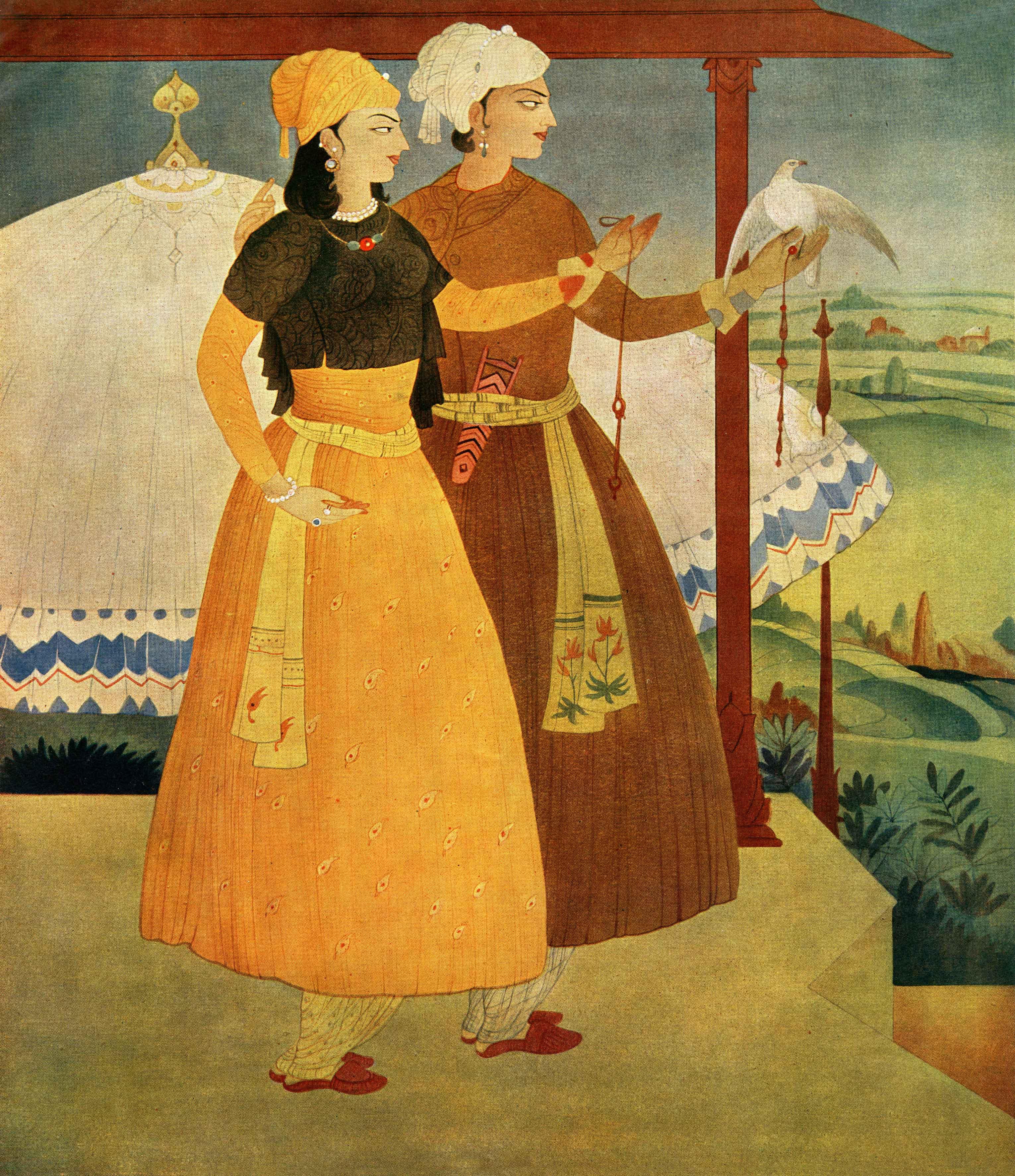 07-Nur-Jahan-and-Jahangeer-(Print)