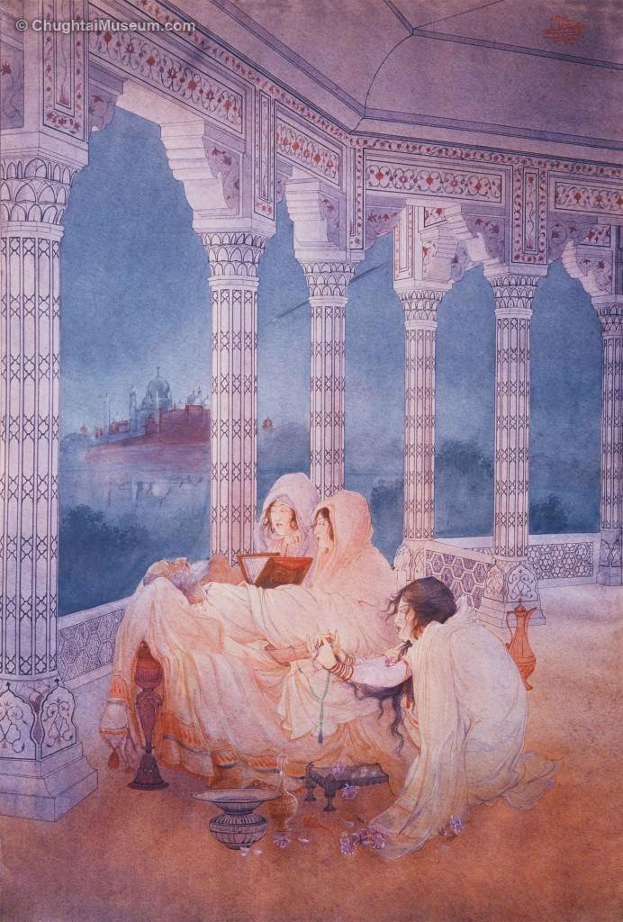 Passing of Shah Jahan