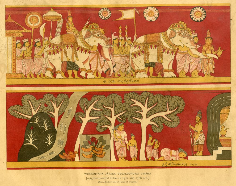 18th century Ceylonese Painting