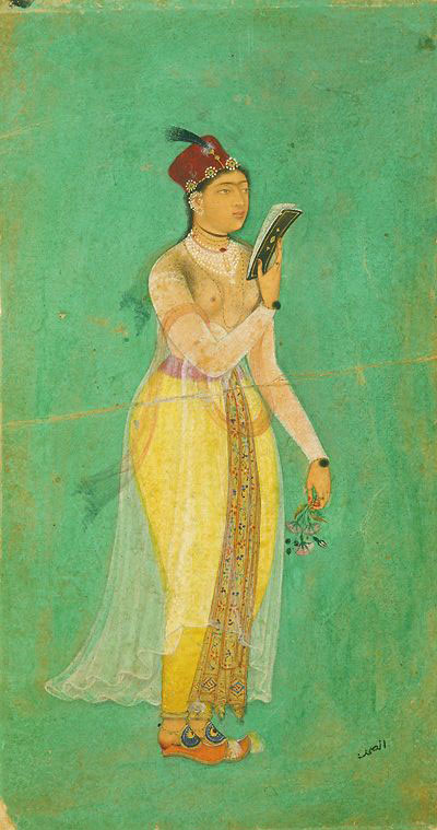 A typical Mughal lady