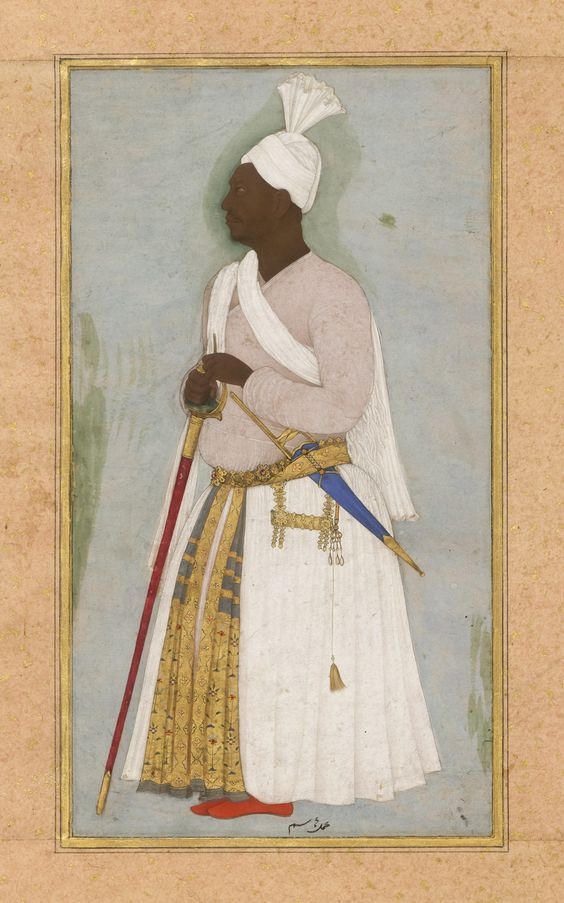 Abyssinian at Mughal Court