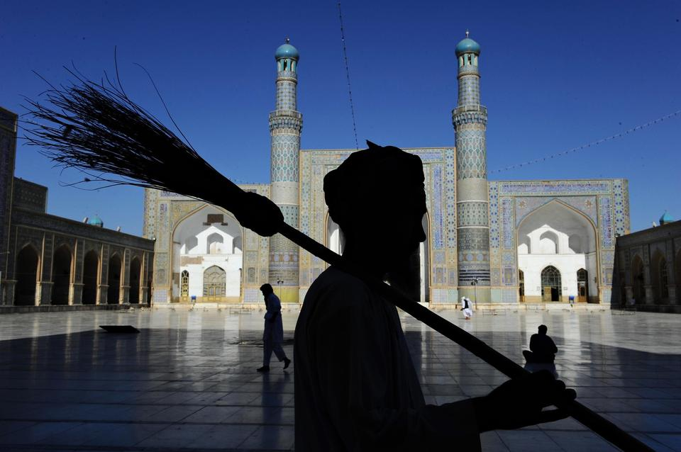 Afghan sweeper