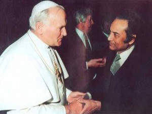 Agha Hassan Abidi and the Pope