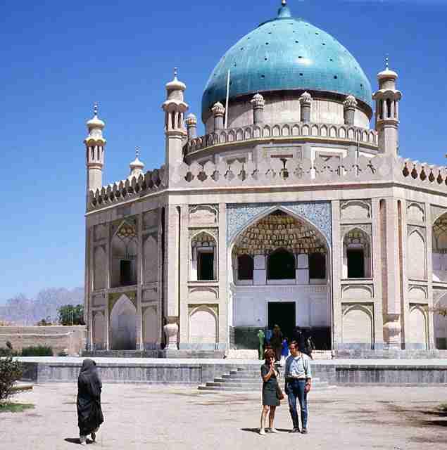 Ahmad Shah Abdali's grave