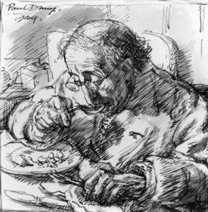 NPG 5459,Alfred Drury,by Paul Drury