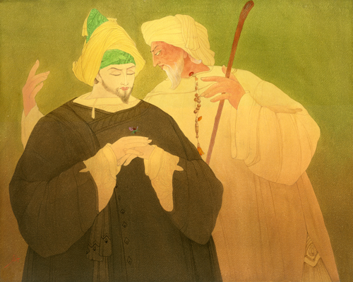 Another Version of Sultan and Saint at UNO
