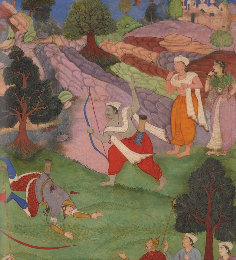Arjun by Abu Fazl 1616 AD