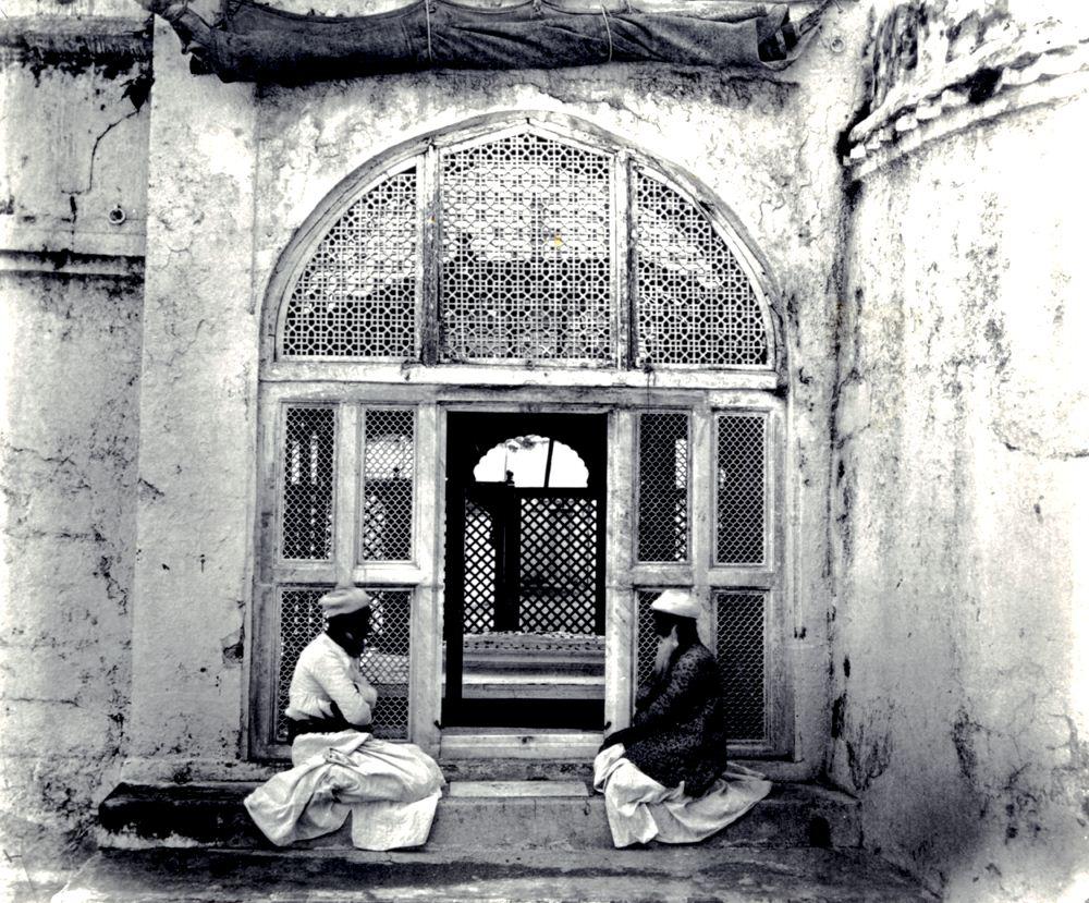 Aurangzebs grave