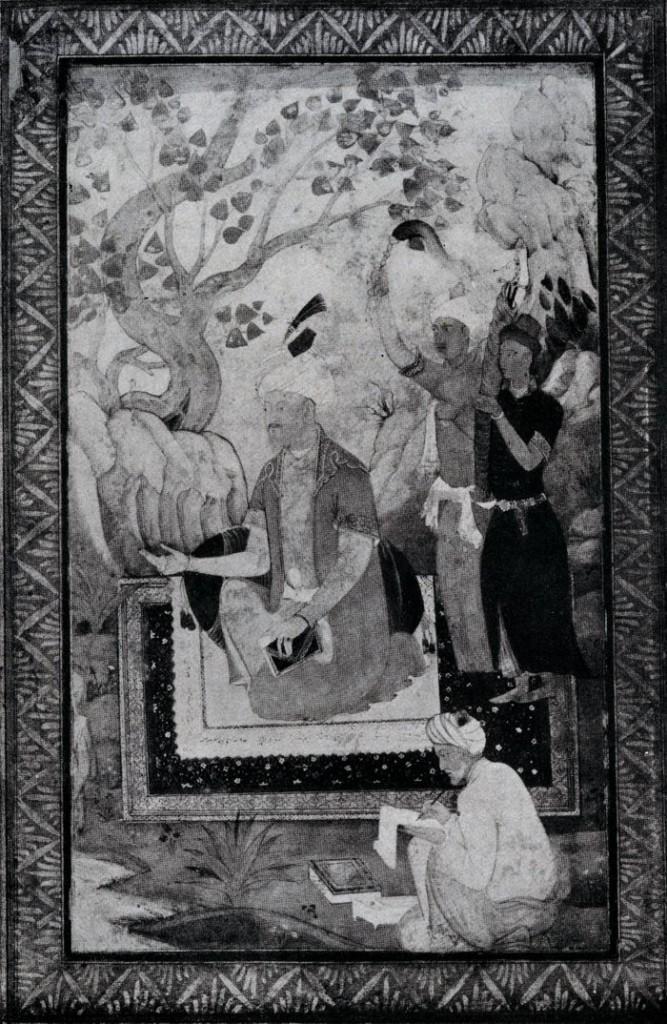 Babur getting memoirs written 1530