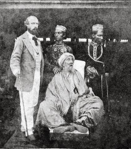 Bahadur Shah Zafar 1858