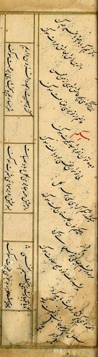 Bayaz Zebu unnisa verses Jahan Ara