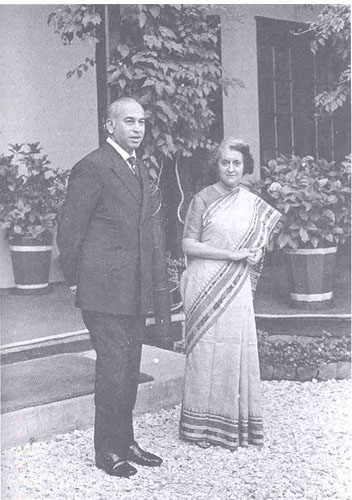 Bhutto and Gandhi