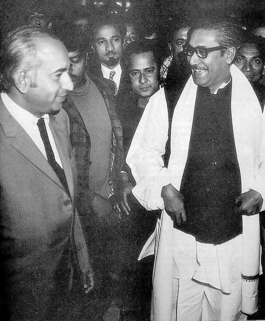 Bhutto and Mujeeb