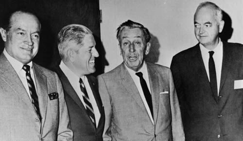 Bob Hope, Walt Disney and Joseph S Farland