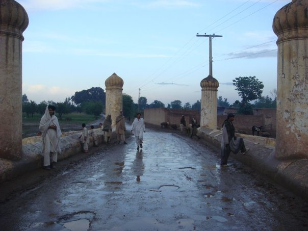 Bridge on river Bara built by Lutufullah Muhandis