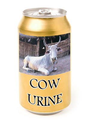 Canning Cow Urine as Soda