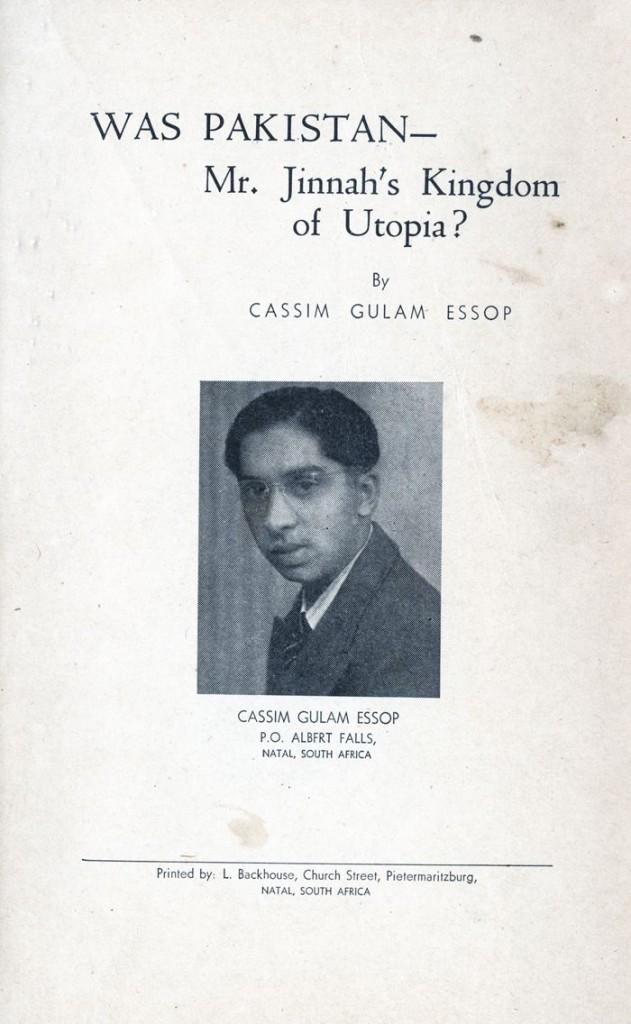 Cassim Gulam Essop