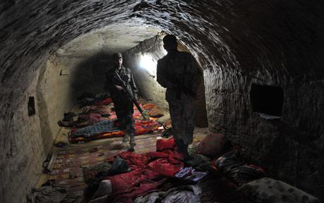 Caves of terrorists