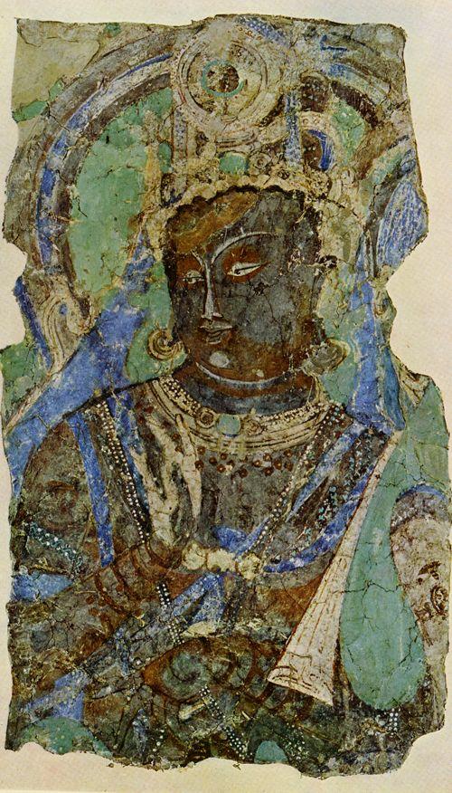 Central Asian Fresco Kizil