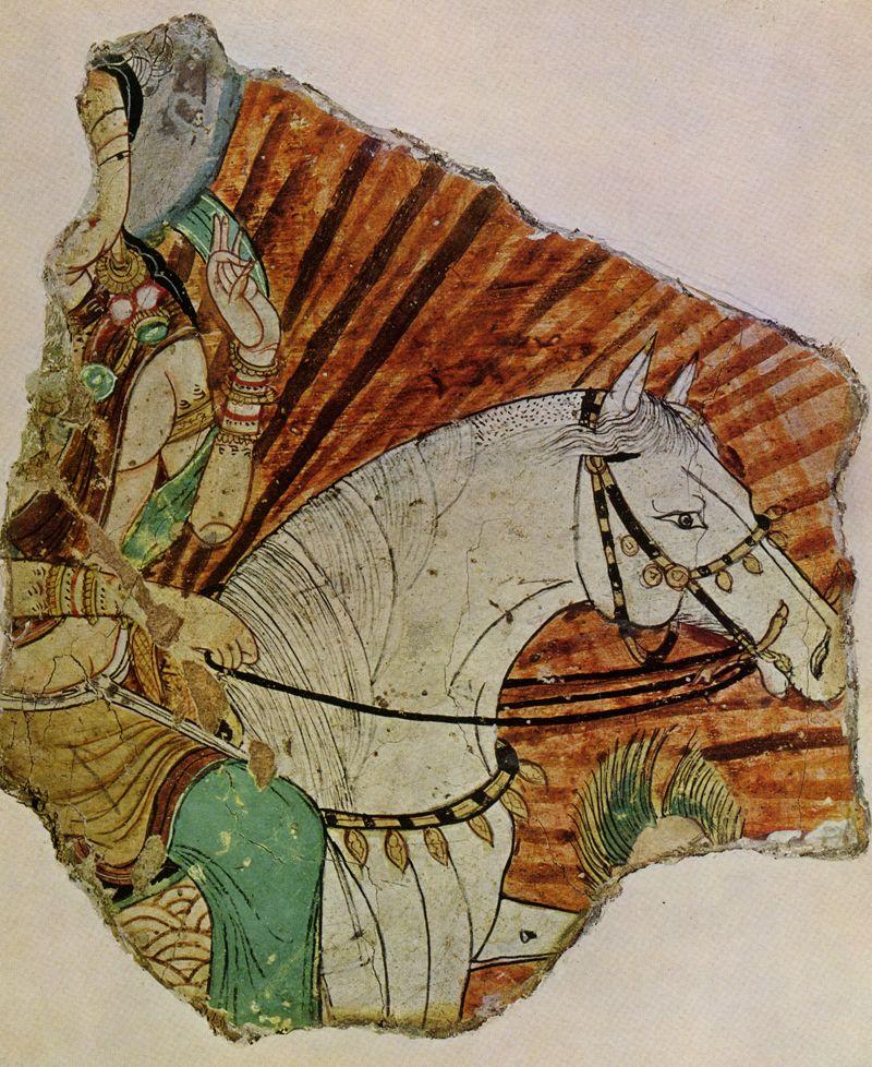 Central Asian Fresco Miran 2