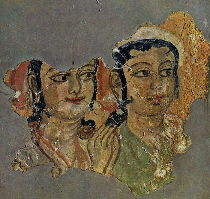 Central Asian Fresco Miran