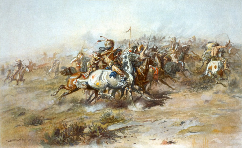 Charles Russell Custers Last Stand