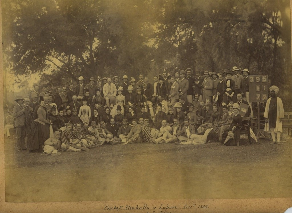 Cricket in Lahore 1888