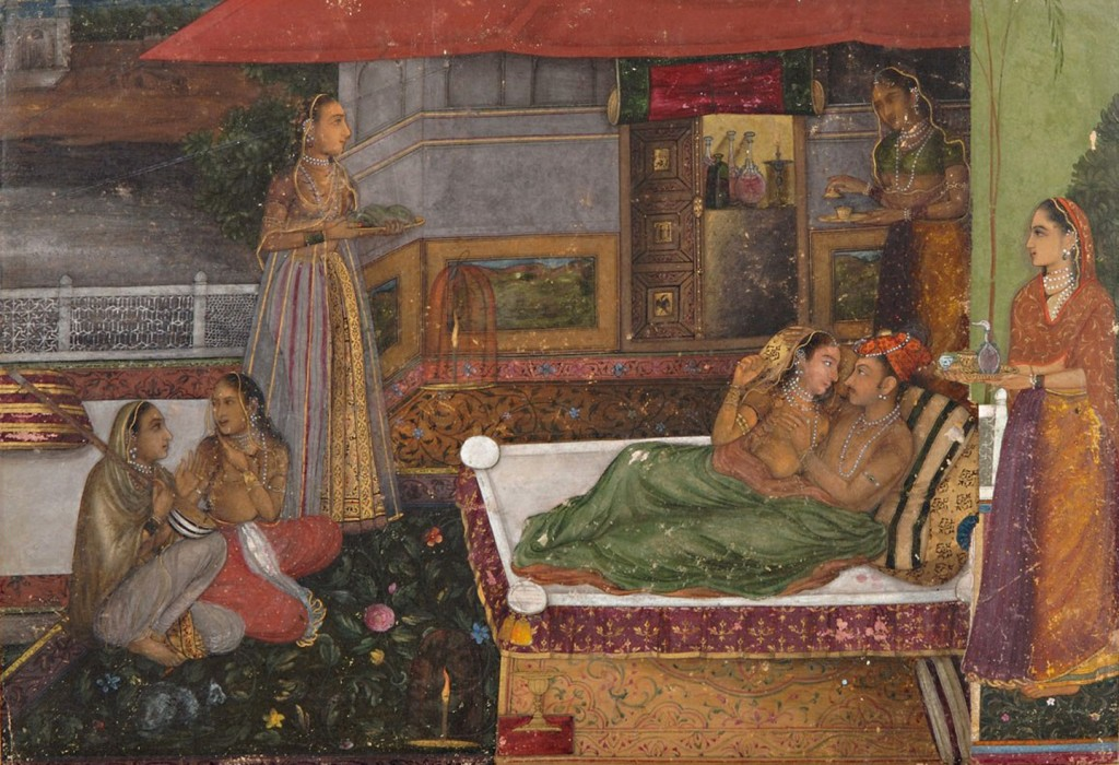 Dara Shikoh with girls