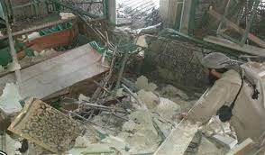 Destruction of Prophet Younus grave
