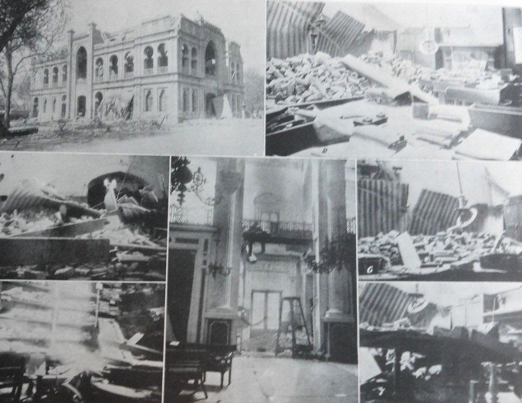 Devastation in Lahore 1904