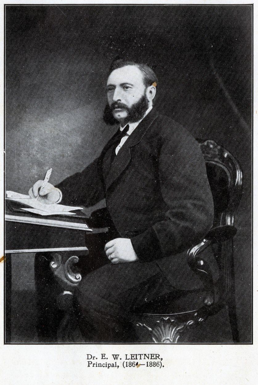 Dr G W Leitner Principal GC