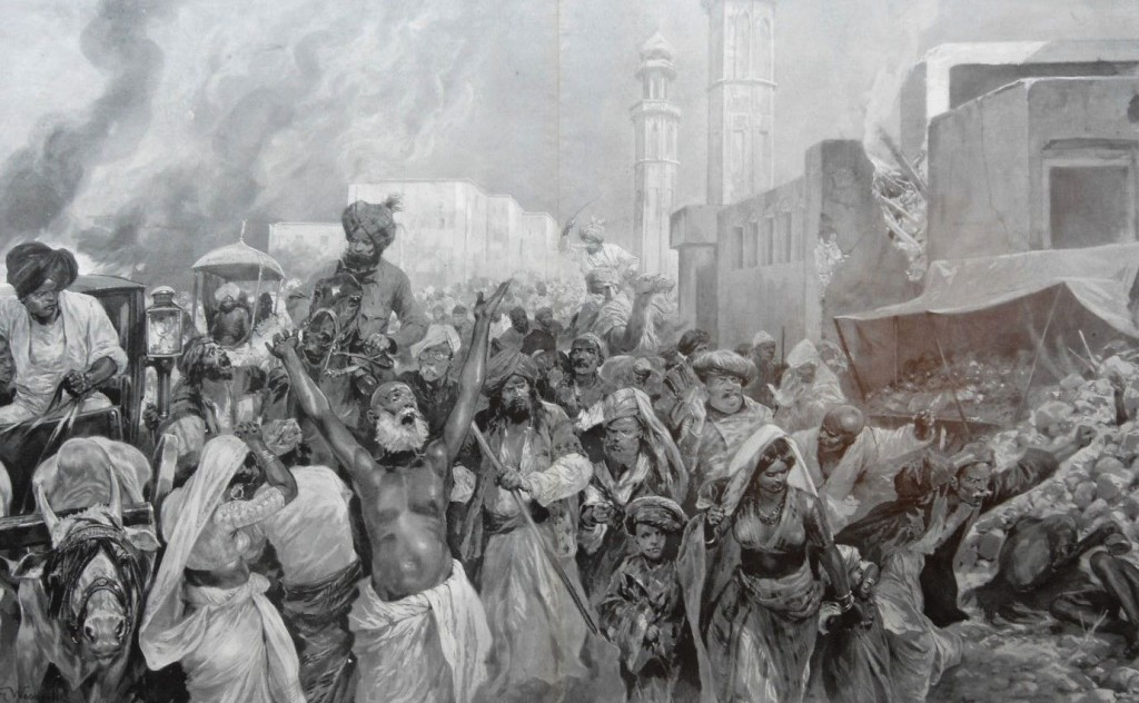 Earthquake in Lahore 1904