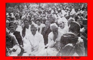 Eid Prayers 18th August 1947