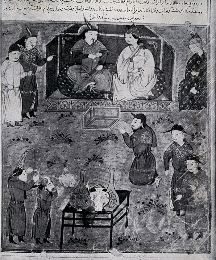 Enthronement of Halaku Khan