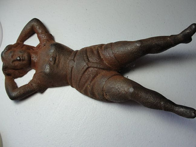 Figurine with chastity belt 1700