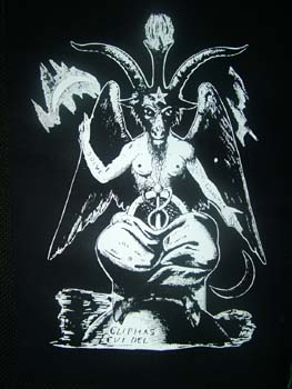 Freemasonry god is devil known as Baphomet