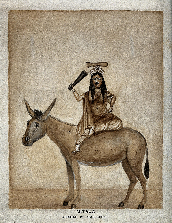 goddess of smallpox