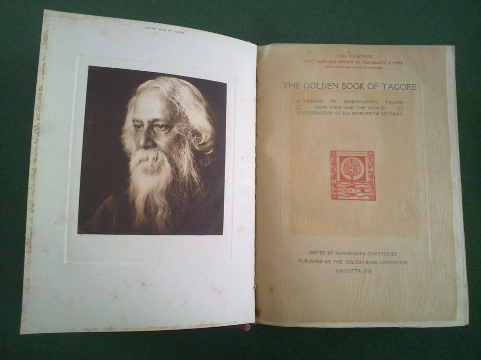 Golden Book of Tagore 1931