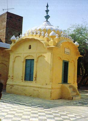 Gurudwara on a Mosque