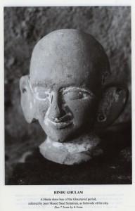 Hindu Slave boy Ghaznavid figurine