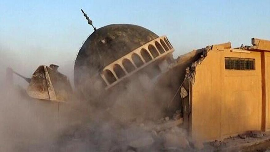 ISIS - destruction of mosques