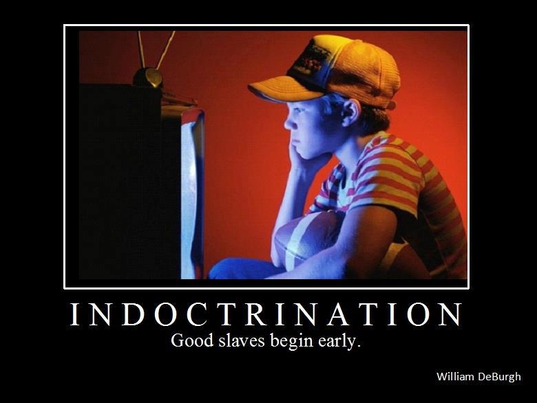 Indoctrination faces