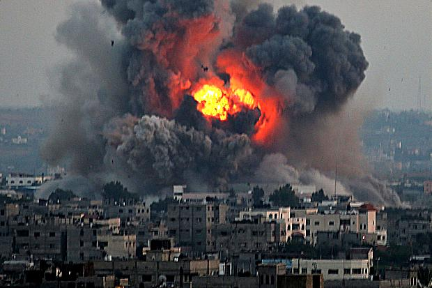 Israeli-bombardment-of-Gaza
