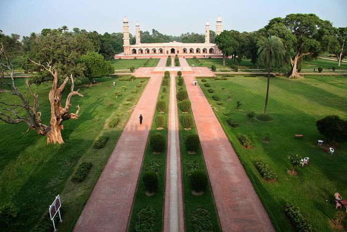 Jahangeers mausoleum