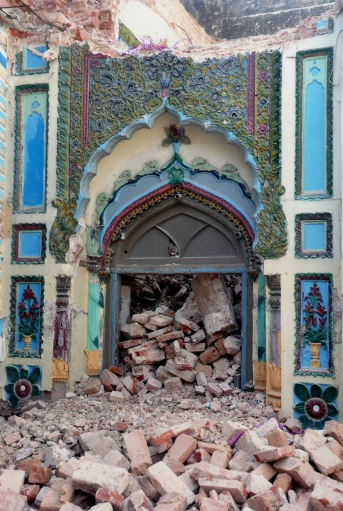 Janazgah Mosque in ruins