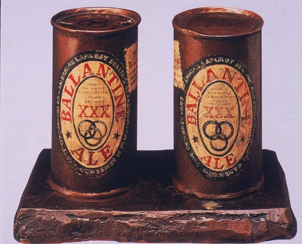 Jasper Johns two cans