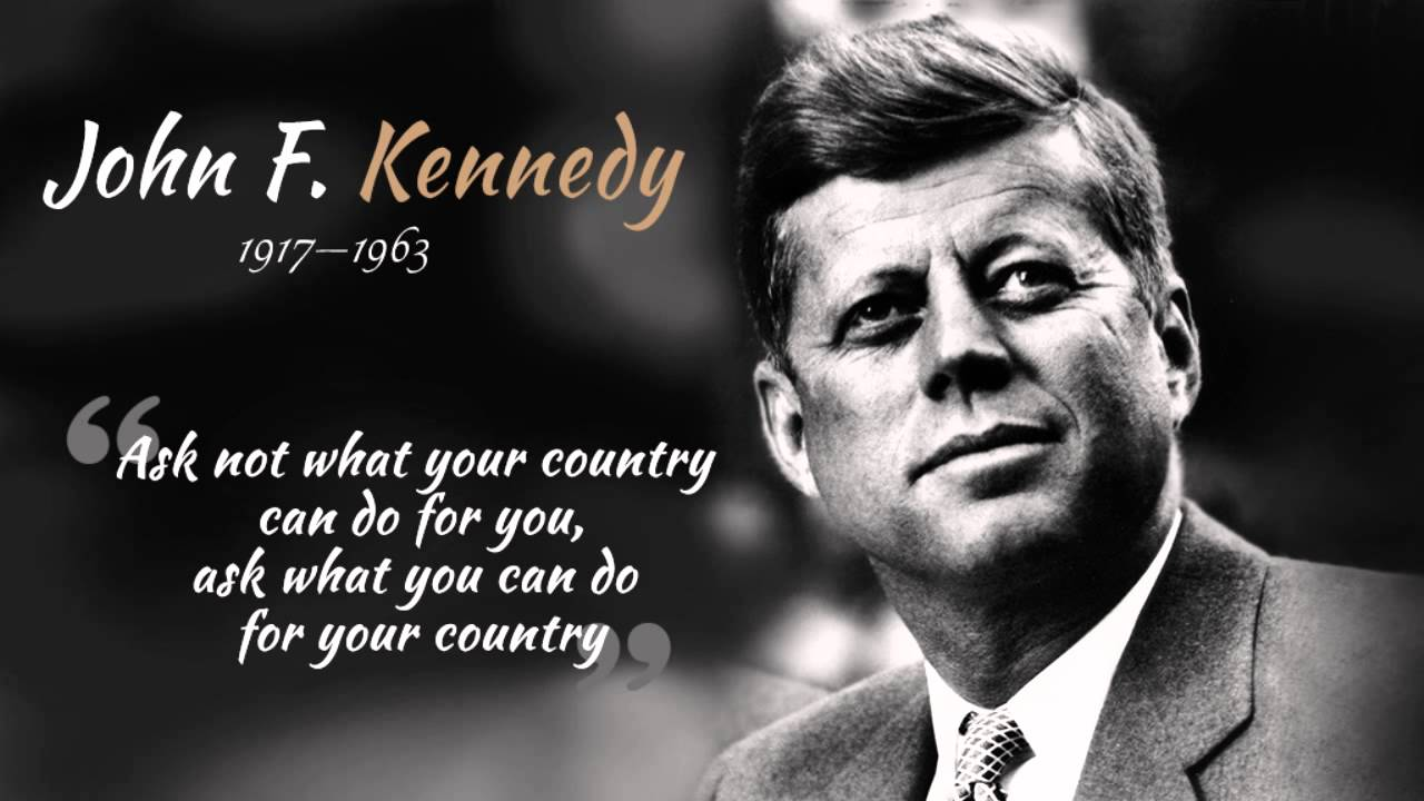 A Kennedy Quote That Reverberated In Pakistan In All Ways Surely