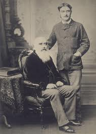 John Lockwood Kipling with son Rudyard