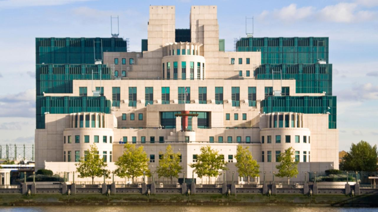 MI6 headquarters Vauxhall London