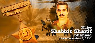 Major Shabbir Syed Shaheed
